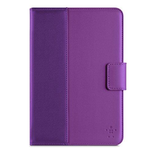Belkin Classic Tab Case/Cover with Stand for iPad mini 3, iPad mini 2 and iPad mini (Purple Lightning)