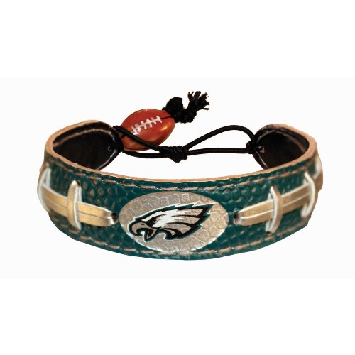 Philadelphia Eagles Team Color NFL Football Bracelet at Amazon.com