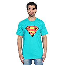 Trenders Round Neck Blue Color T shirt with Superman print