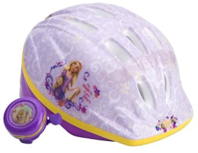 Disney Princess Girls Rapunzel Toddler Microshell Helmet Cycle Gear, Bicycling, Bike, Cycling, Bicycle from SPORT4U