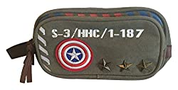 BB Designs Cap'n America Vintage Military Canvas Toiletry