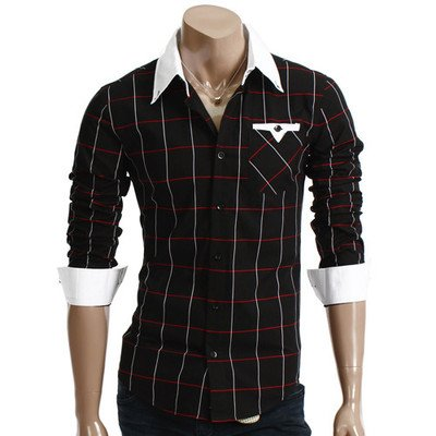 Brand New Mens Casual Slim fit Dress Shirts W05 Colletion