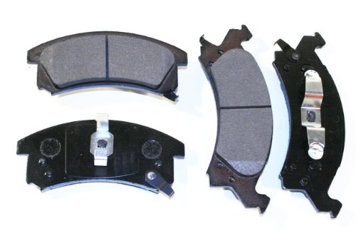Prime Choice Auto Parts SMK673 New Front Semi Metallic Brake Pad Set