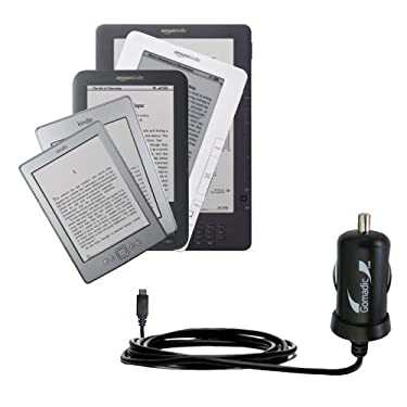 Rapid Car / Auto Charger for the Amazon Kindle 2nd & Latest Generation / Kind...