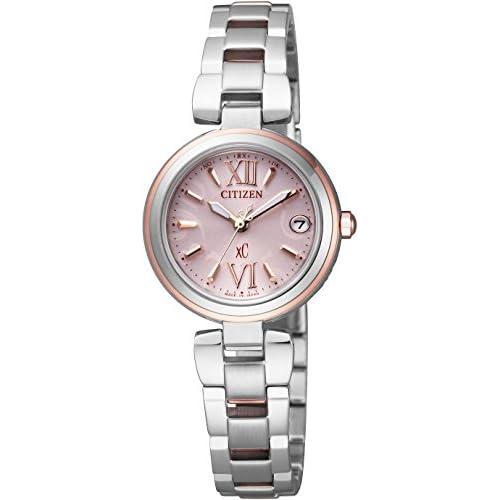 [シチズン]CITIZEN 腕時計 xC クロスシー MINISOLシリーズ シンプルアジャスト付 Eco-Drive電波 エコ・ドライブ電波 ES8134-52W レディース