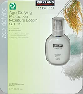 Kirkland Signature By Borghese Age-defying Protective Moisture Lotion SPF 15 (3.4 Fl Oz)