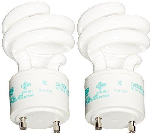 Feit BPESL13T/GU24/2 13-watt Twist Soft White GU24 Base, 2-Pack (Gu24 Bulb compare prices)