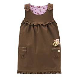 Toddler Girls' Classic Pooh™ Twill Jumper - Brown
