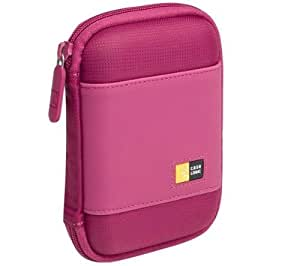 Case Logic PHDC-1 Portable Hard Drive Case - Magenta