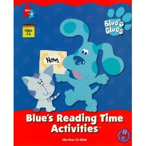 Blue's Reading Time Activities
