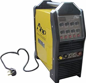 AHP AlphaTIG 200DX 200-Amp IGBT AC DC Tig/Stick Welder with Pulse 110V and 200V from AHP