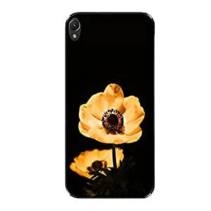 Vibhar printed case back cover for Lenovo A6000 Plus TwoGoldFlo
