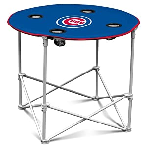 Logo Chair MLB Round Tailgating Table by Logo