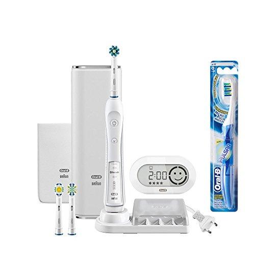 ブラウン オーラルB 電動歯ブラシ プラチナホワイト D365356WHP スマホアプリ連動 ホワイト