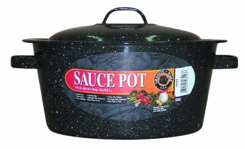 Granite Ware 6153-6 4-Quart Covered Sauce Pot