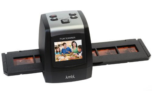 Jumbl-22MP-High-Resolution-35mm-Negative-Film-Slide-Scanner-w-24-Color-LCD-no-Computer-or-Software-Required-To-Operate-TV-out-Cable-Included