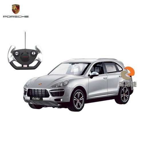 Hot Deal 1/14 Scale Radio Remote Control Porsche Cayenne Turbo SUV RC Car R/C RTR (Silver)  Best Offer