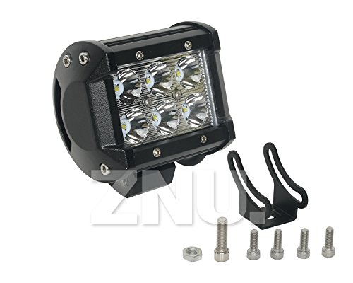 Znu 18W Cree Led Work Light Bar Driving Lamp Spotlight Truck Offroad Ute 4Wd