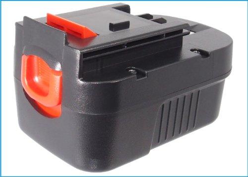 Battery2Go Rechargeable Battery 2000Mah For Black&Decker A144, B-8316, Bpt1048, Hps1440, Hp14K, Nm14, Hpd14K-2