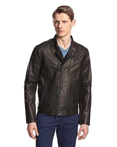 John Varvatos Collection Men's Leather Biker Jacket