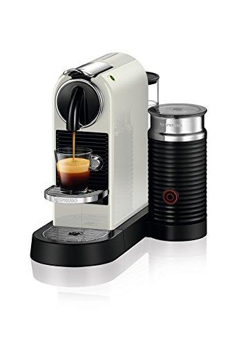 NESPRESSO CitiZ C112/D112 & Aeroccino Milk Frother Bundle (White) (Nespresso Citiz White compare prices)
