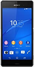 "Sony Xperia Z3 - Smartphone Android (5.2"", Full HD 1920 x 1080 p, Qualcomm Snapdragon 2.5 GHz, cámara 20.7 Mp), negro (importado)"