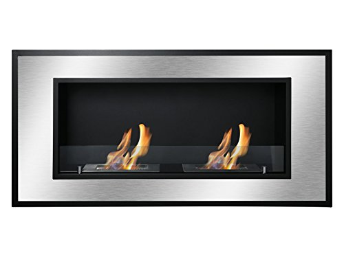 Ignis Bellezza Recessed Ventless Ethanol Fireplace