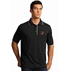 Baltimore Orioles Elite Polo Shirt (Team Color) by Antigua