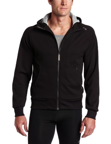 Craft Craft Men's Flex Full Zip Long Sleeve Hood (Black, Small)