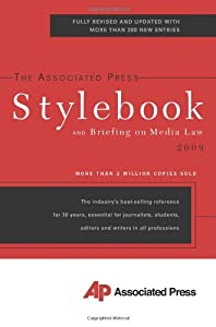 "Cover of ""The Associated Press Stylebook ..."