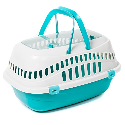 Favorite Top Load Portable Pet Small Animal Carrier Outdoor Short Trip Travel Vet Visit