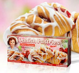 Little Debbie Cherry Cheese Danish Pastries 12 Oz 2 Pack