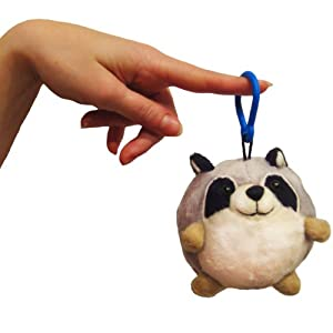 "Micro Squishable Raccoon 3"" Plush Toy"
