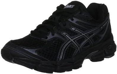Asics Women's Gel Cumulus 14 W Black/Onyx/Charcoal Trainer T296N 9099 3.5 UK