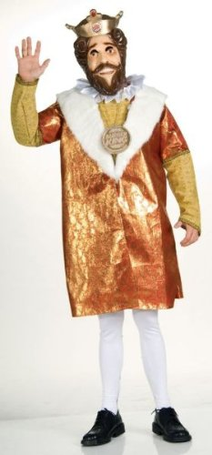 Burger King Deluxe Men's Costume