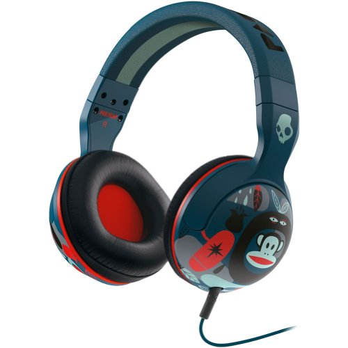 Skullcandy Hesh 2 Paul Frank Premium Wired Headphone - Navy/Red / One Size