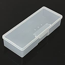 Tmarton Transparency Clear Electronics Parts, Gadgets, Tool, Sewing, Jewelry Pill Craft Jewelry Bead Organizer Case