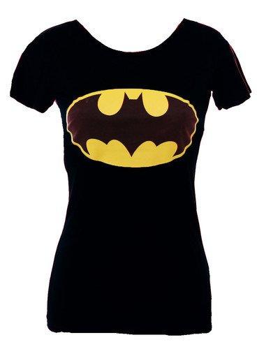 da donna nuovo stampa 'batman' Comic Hero T-Shirt Canotta (misure S/M -  M/L