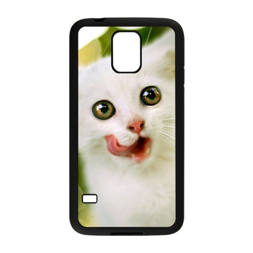 Alicase Hard Shell Diy Case Lovely Cat Cover For Samsung Galaxy S5 I9600 [Pattern-2] front-854902