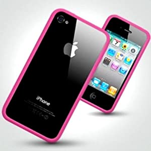 Julytwenty London Iphone 4 Silicone Bumper Case - Pink