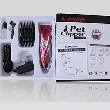 Zcl Professional Pet Fur Hair Electric Clipper (Lm-3680) , Red