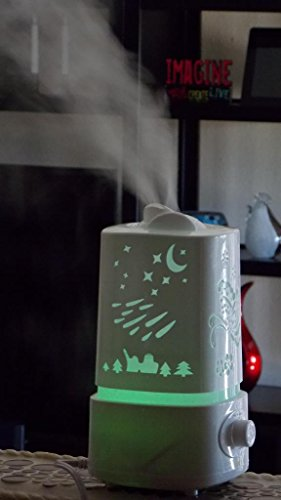 Canary Products Carved Aroma Diffuser And Humidifier