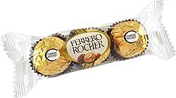 Ferrero Rocher Hazelnut Chocolates, 3 pcs (pack of 2)