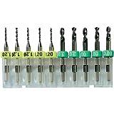 Bungard Hartmetallbohrer D= 1,0mm, 10st. Pckg.