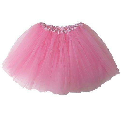 Ballerina Basic Girls Dance Dress-Up Princess Fairy Costume Dance Recital Tutu (Pink) by So Sydney