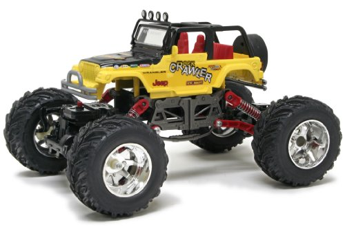 New Bright Pro Dirt Jeep Wrangler Rock Crawler Radio Control