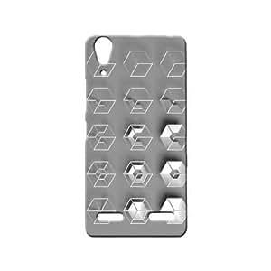 BLUEDIO Designer 3D Printed Back case cover for Lenovo A6000 / A6000 Plus - G5873