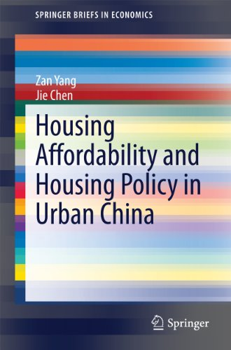 Housing Affordability and Housing Policy in Urban China (SpringerBriefs in Economics)