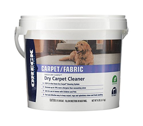 Oreck Dry Carpet Dry Carpet Cleaning Powder 9 lb. Pail (Dry Clean Supplies compare prices)