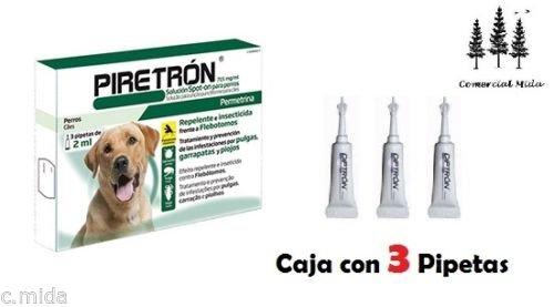3-pipetas-piretron-2-ml-perros-15-kg-pipeta-permetrina-pulgasflebotomosgarrapatas